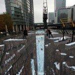 Cel mai mare desen pe asfalt din lume