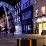 Luminile de Crăciun în Londra