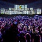 Cea mai mare proiecție multimedia din România