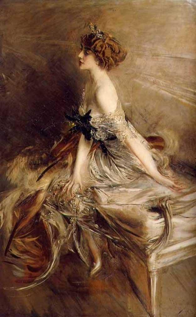 Martha Bibescu (portret realizat în 1911 de pictorul italian Giovanni Boldini).