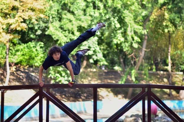 Dancing Bucharest - dansator: Arcadie Rusu.