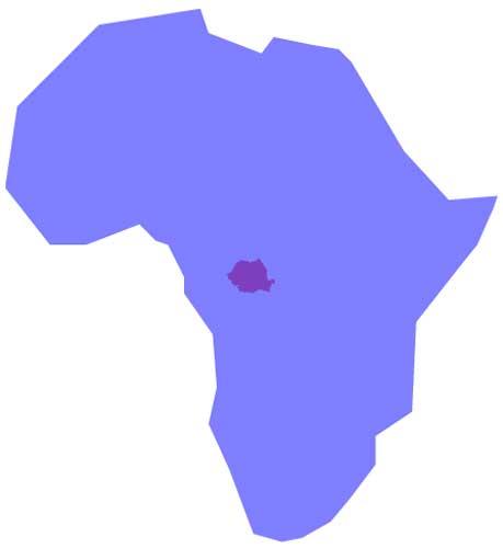 România vs. Africa