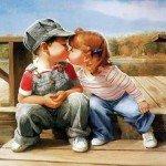 Poezii de dragoste pentru copii