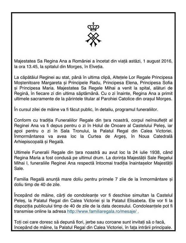 comunicat-Ragina-Ana
