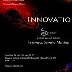 Innovatio Sound – acelasi cor, alt dirijor: Francesco Saverio Messina