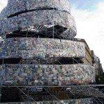 Turnul lui Babel: o constructie din 30.000 de carti