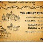 Cu bastonul prin Bucureşti…