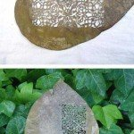 Sculpturi in frunze