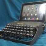 iPad pentru masina de scris
