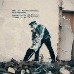 Politia recurge la graffiti