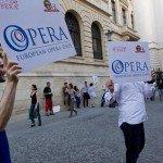 Prietenii Operei: happening in Centrul Vechi