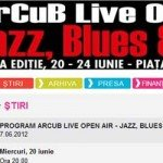 ArCuB Live Open Air: cinci seri de concerte de jazz