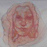 Picturi din pete de vin rosu