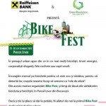 Bike Fest 2012: eveniment dedicat tuturor biciclistilor urbani din Romania