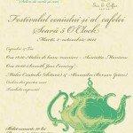 Jazz la Festivalului ceaiului si al cafelei