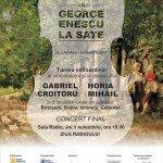 Vioara lui George Enescu la sate