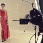 Frumoasa rochie roșie