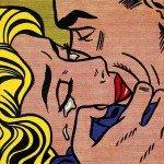 Opt dintre cele mai cunocute săruturi din istoria artei