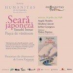 Seara japoneză la Librăria Humanitas de la Cișmigiu