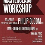 Un workshop eveniment: Philip Bloom în România