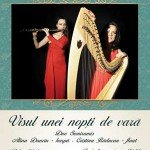 Visul unei nopti de vara: concert Duo Semiramis – harpa si flaut