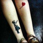 Tatuaje pentru iubitorii de arta
