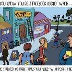 10 simptome că ești dependent de Facebook