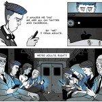 Noi suntem generația social media. Iar aceștia suntem noi