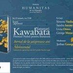 Seară japoneză dedicată lui Yasunari Kawabata