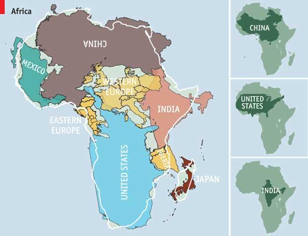 Africa-harta