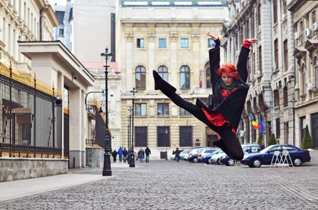 Dancing Bucharest - dansatoare: Galea Bobeicu.