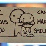 Despre dragoste, cu zâmbetul pe buze