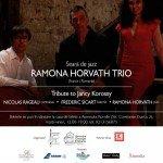 Seară de jazz cu Ramona Horvath Trio