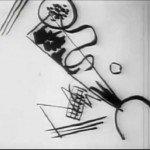 Kandinsky pictând