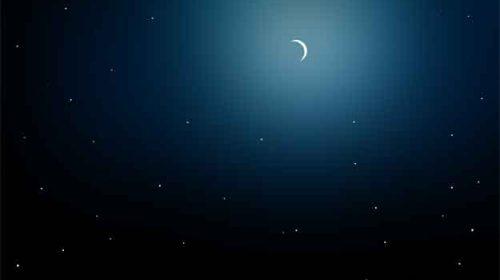 Imagine în noapte