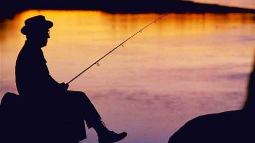 Pescarul din amurg