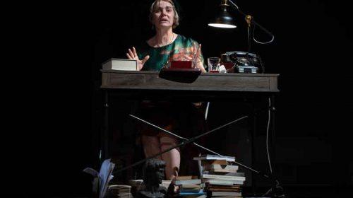 Maia Morgenstern pe scena Teatrului Godot
